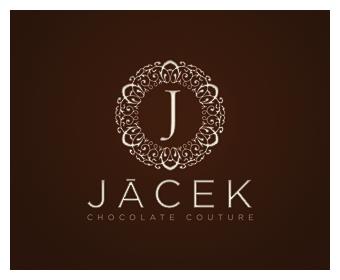 Logo design by Paper Leaf for Jacek Chocolate