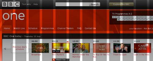 BBC Site Redesign