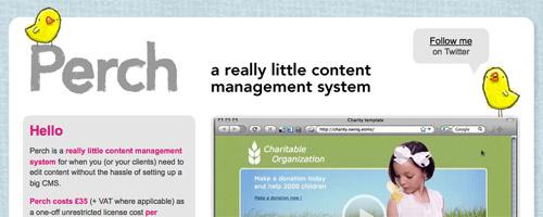 Perch Content Management System