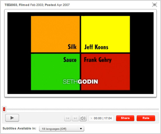 Seth Godin TED Talk