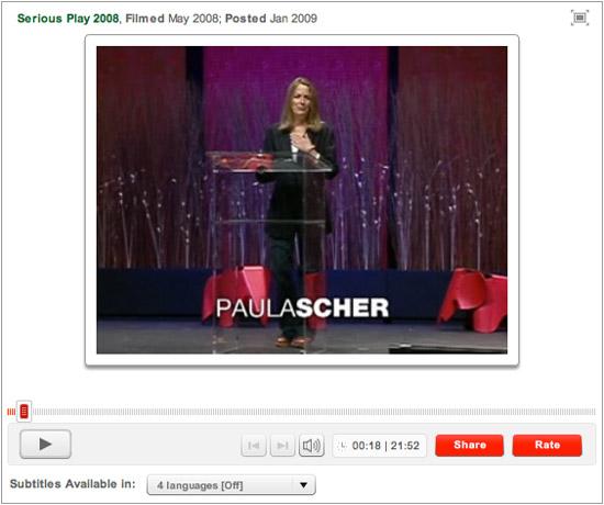 Paula Scher TED Talk