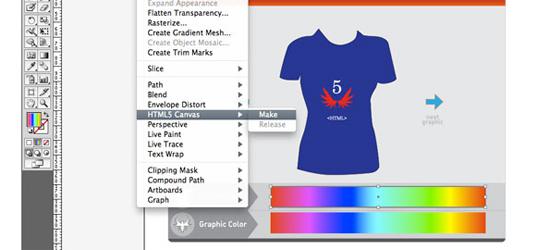 Adobe Illustrator HTML5
