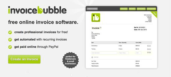 Invoice Bubble