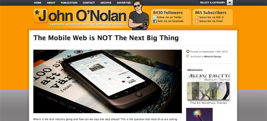 Why the Mobile Web ISN'T the Next Big Thing