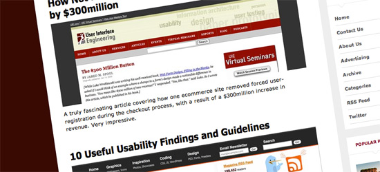 Usability Findings