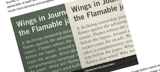 Best Practices of Combining Typefaces