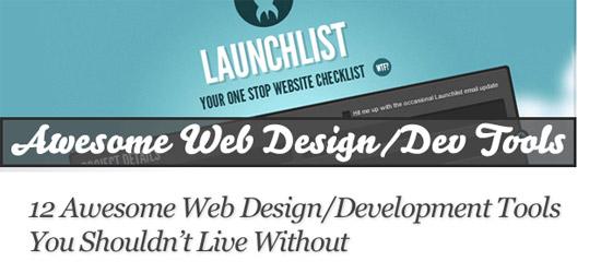 12 Web Design Tools
