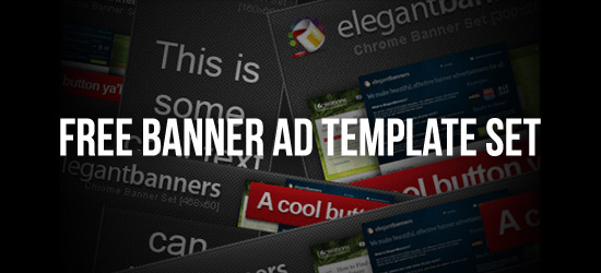 Free Banner Ad Photoshop Template