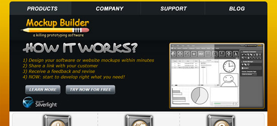 Wireframing and Mock Up Tools