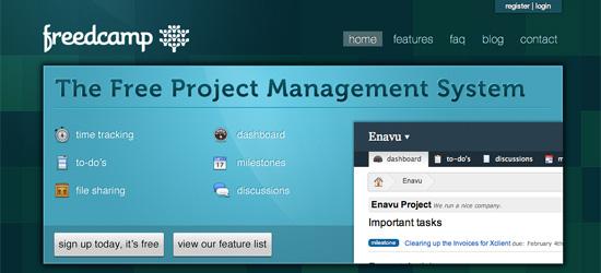Freedcamp Project Management