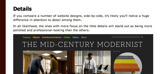 Mediocrity vs. Excellence in Design