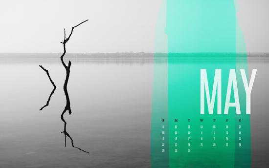 May 2011 Desktop Calendar Wallpaper