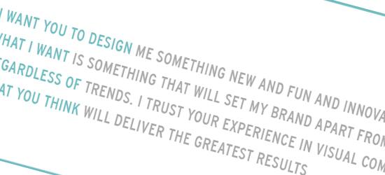 Design Disconnect