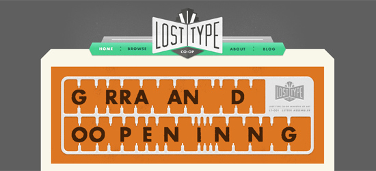 Lost Type Foundry