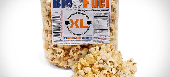 Caffeinated Popcorn