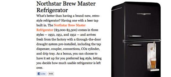 Northstar Brew Master Beer Fridge
