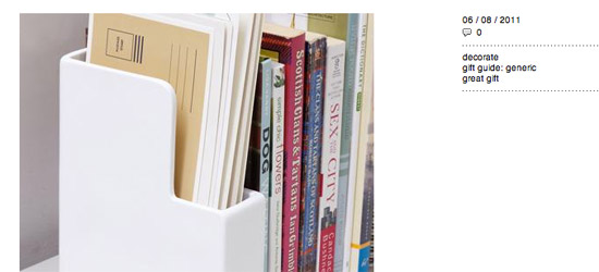 LetterHolder Bookeend