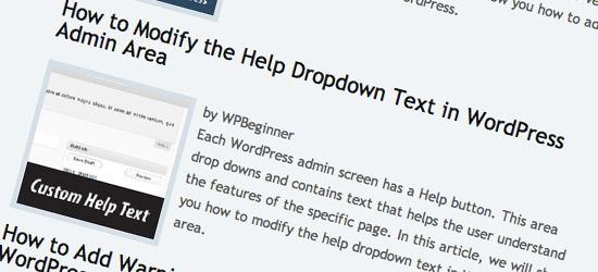 40+ WordPress Tips