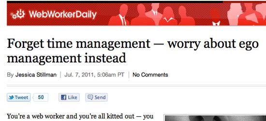 Ego Management for Freelancers