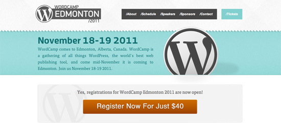Wordcamp Edmonton - WordPress