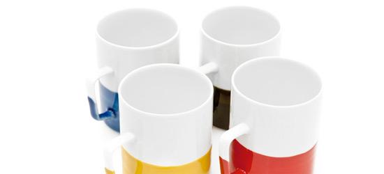 Color Dipped Mugs