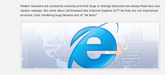 Solve Common IE Bugs