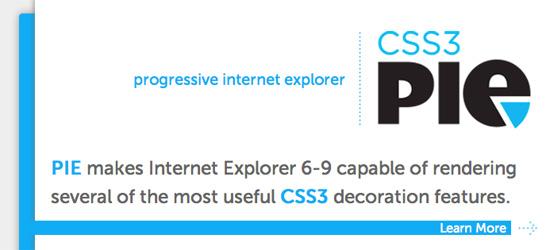 CSS3 PIE