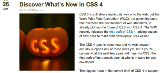 What's New in CSS4