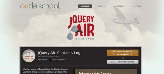 jQUery Air Free jQuery Course