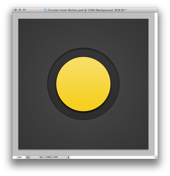 Circle One - Web Design Button Tutorial