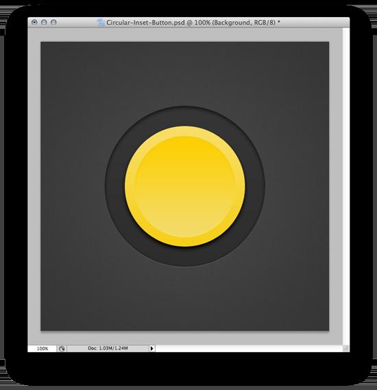 Second Circle - Web Design Button