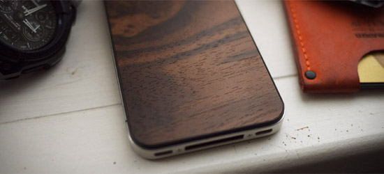 Material 6 Wood iPhone Case