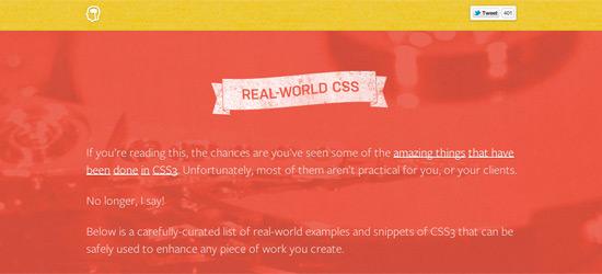 Real World CSS