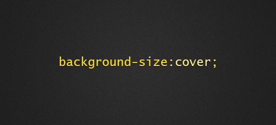 cSS3 background-size