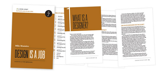 Design is a Job - Book