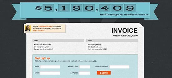 World's Longest Invoice