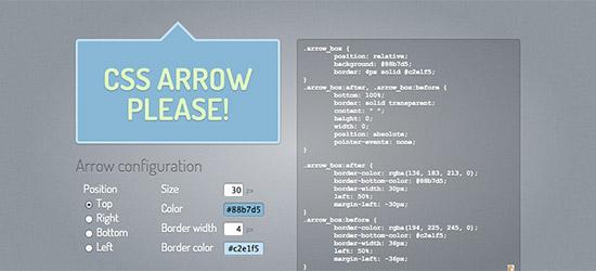 CSS Arrow Please